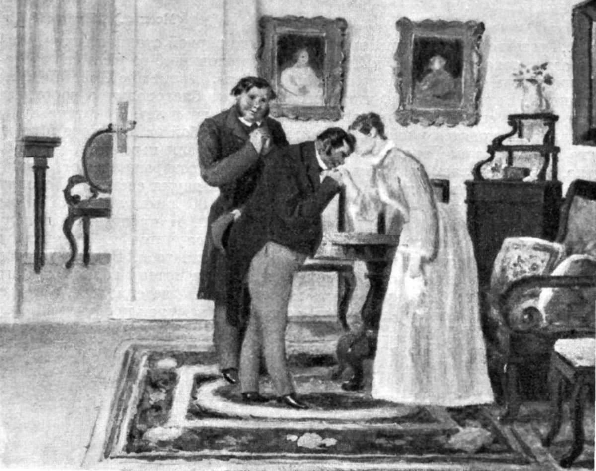 Описание и характеристика дома Манилова в поэме Н. В. Гоголя «Мертвые души»
