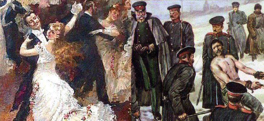 Контраст в рассказе «После бала» (Л. Н. Толстой)