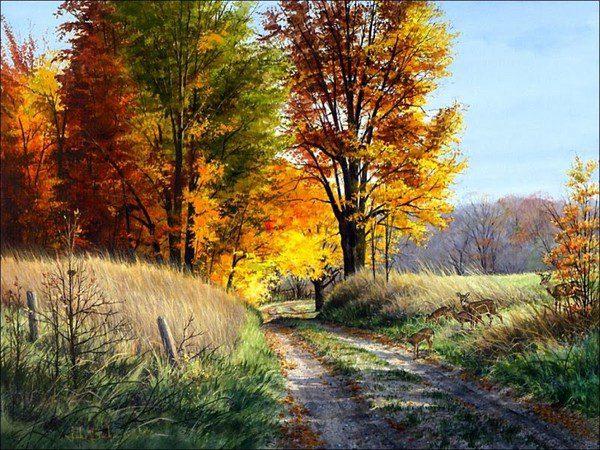 Анализ стихотворения «Осень» (М. Ю. Лермонтов)