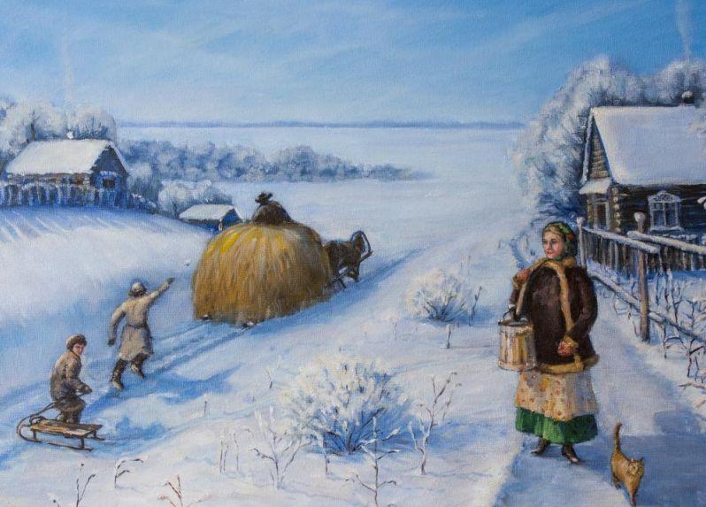 Анализ стихотворения «Зима» (Суриков И.З.)