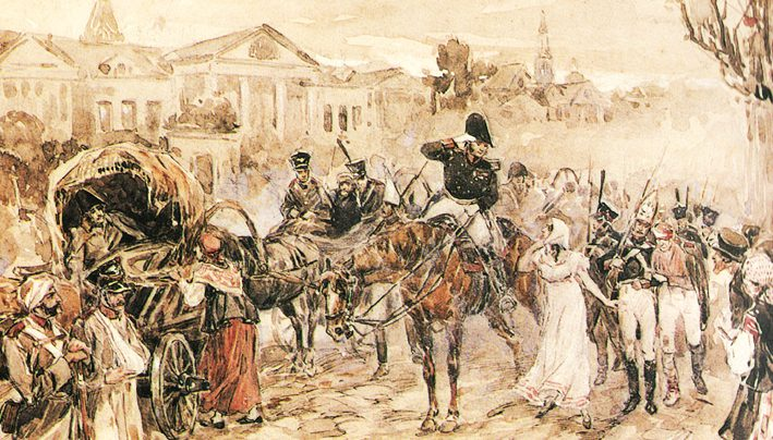 Сочинение: Общество в романе «Война и мир» (Л.Н. Толстой)