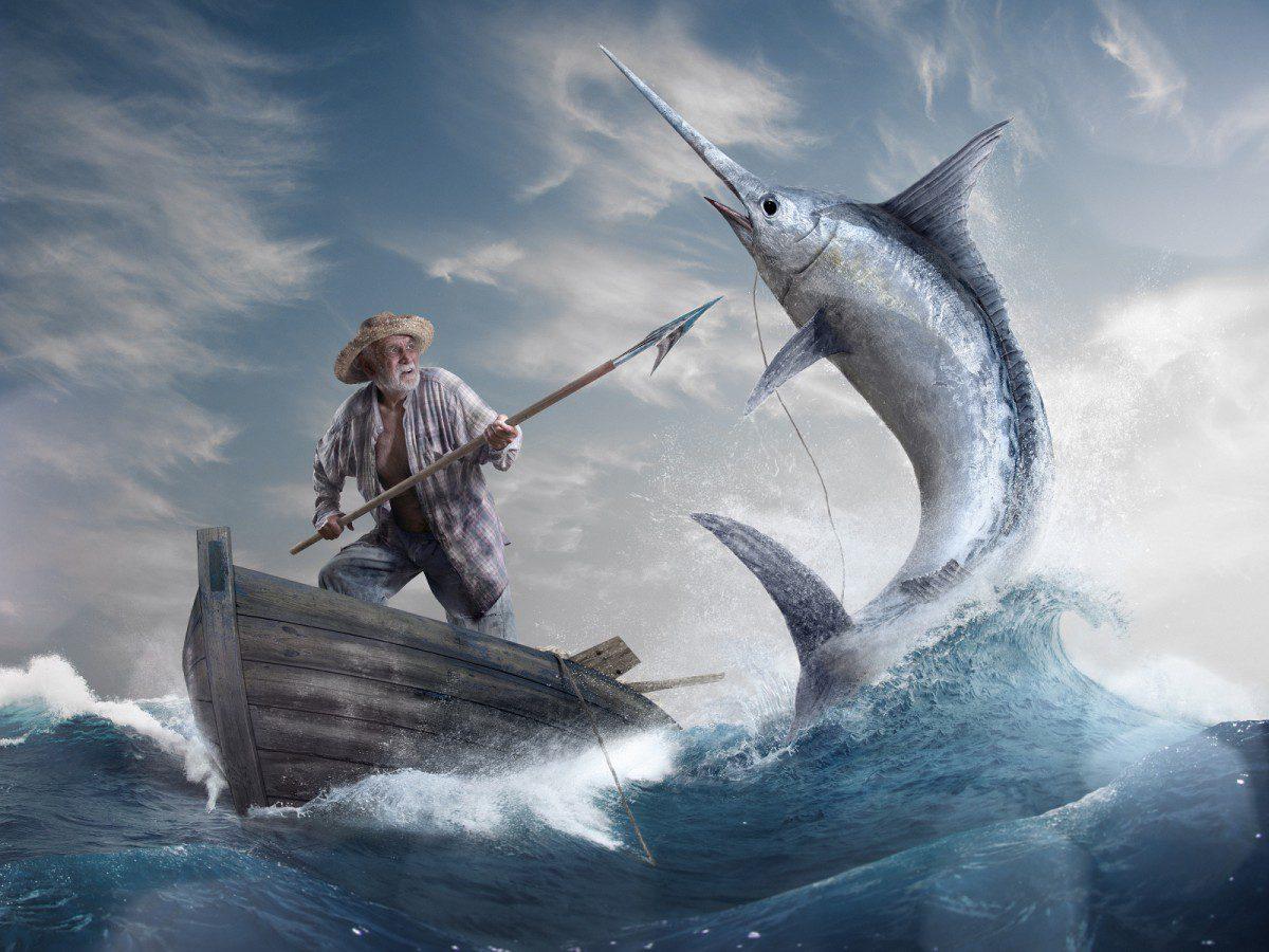 Краткое содержание повести «Старик и море» (Э.Хемингуэй) с цитатами