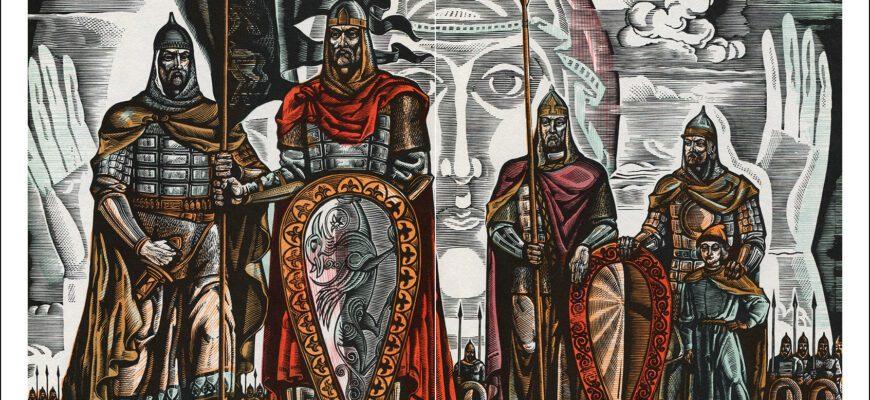 Образы князей в «Слове о полку Игореве»