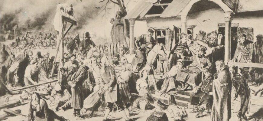 Русский бунт в романе