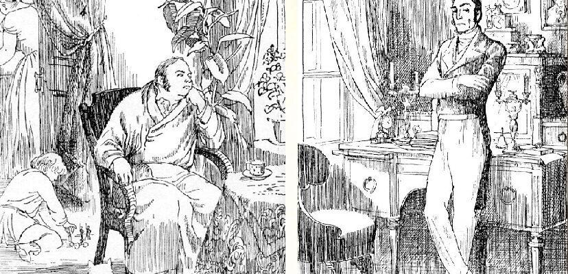 Принципы Обломова и Штольца в романе