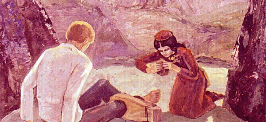 Краткое содержание рассказа «Кавказский пленник» (Л.Н. Толстой)