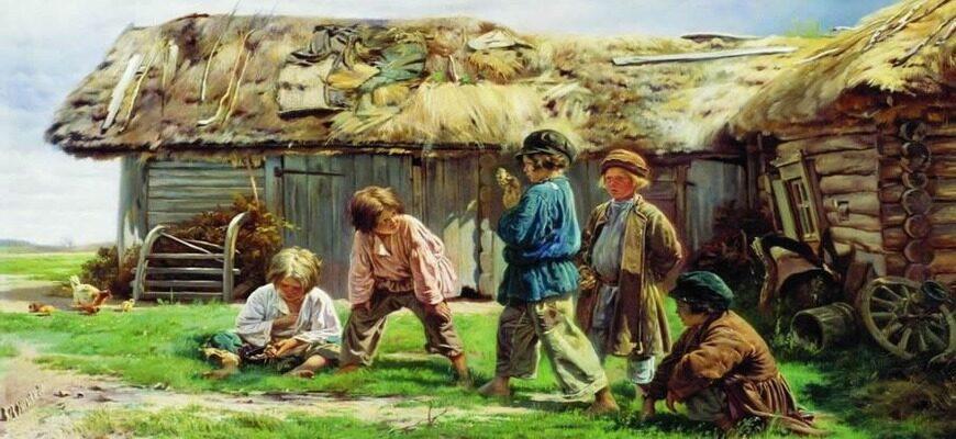 «Крестьянские дети», краткое содержание поэмы (Н.А. Некрасов)