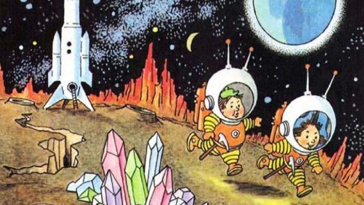«Незнайка на Луне», краткое содержание романа-сказки (Н. Н. Носов)