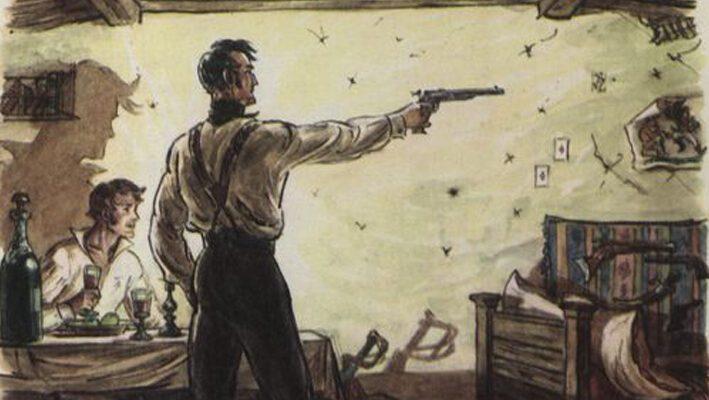 «Выстрел», краткое содержание повести (А. С. Пушкин)