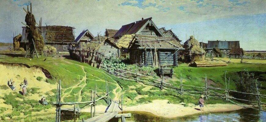 «Деревня», краткое содержание повести (И.А. Бунин)
